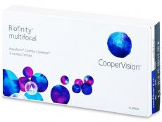 Biofinity Multifocal (3lēcas)