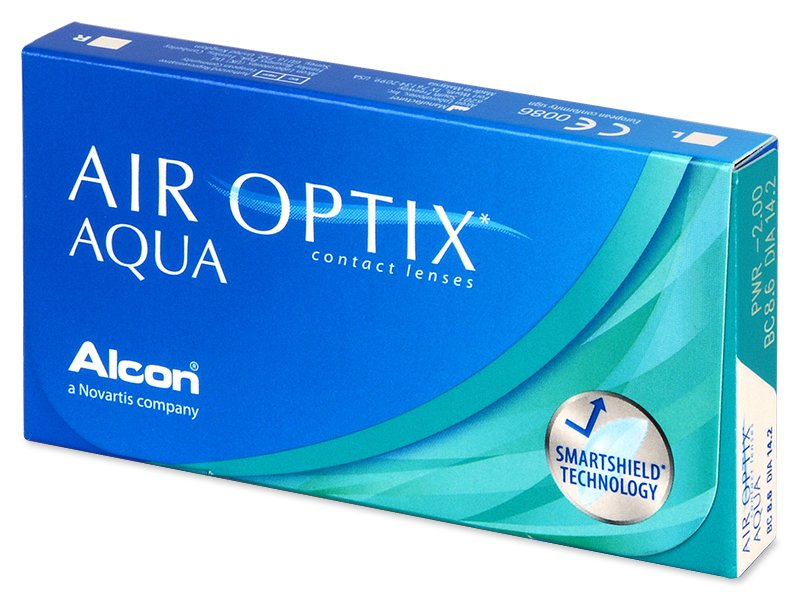 Air Optix Aqua (3 lēcas)