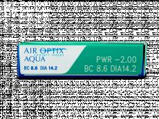 Air Optix Aqua (3lēcas)