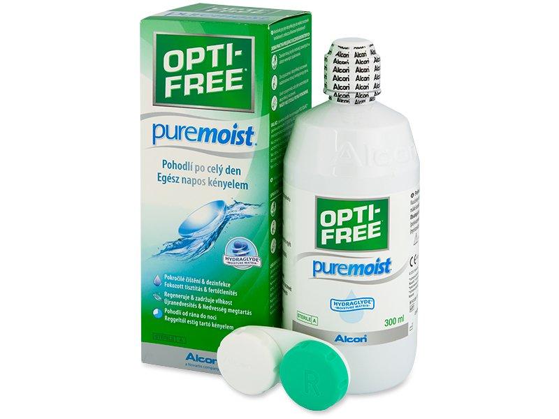 OPTI-FREE PureMoist šķīdums 300ml