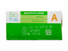 Biotrue ONEday for Astigmatism (30 lēcas)