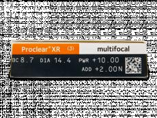 Proclear Multifocal XR (3lēcas)