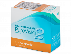 PureVision 2 for Astigmatism (6 lēcas)