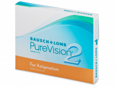 PureVision 2 for Astigmatism (3 lēcas)