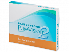 PureVision 2 for Astigmatism (3lēcas)