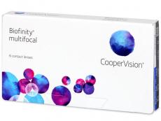 Biofinity Multifocal (6 lēcas)