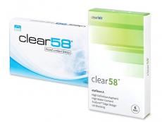 Clear 58 (6lēcas)