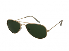 Bērnu saulesbrilles Alensa Pilot Zelta