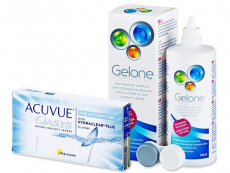 Acuvue Oasys for Astigmatism(6 lēcas) + Gelone Šķīdums 360 ml