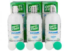 OPTI-FREE PureMoist šķīdums  3x300ml