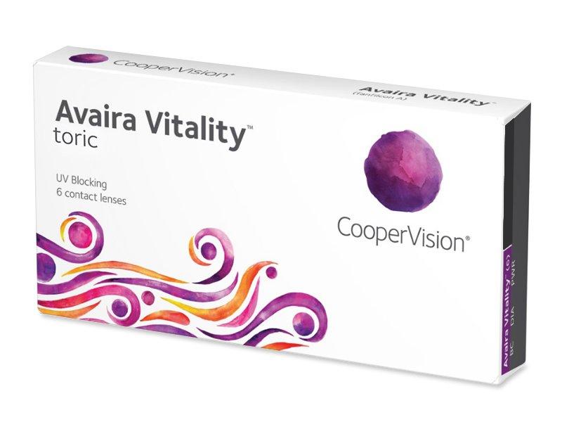 Avaira Vitality Toric (6 lēcas)