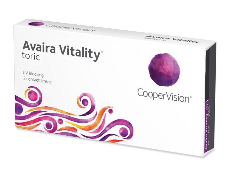 Avaira Vitality Toric (3 lēcas)