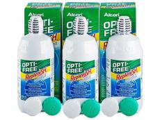 OPTI-FREE RepleniSH šķīdums 3x300ml