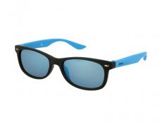Bērnu saulesbrilles Alensa Sport Melnas Zils Spogulis