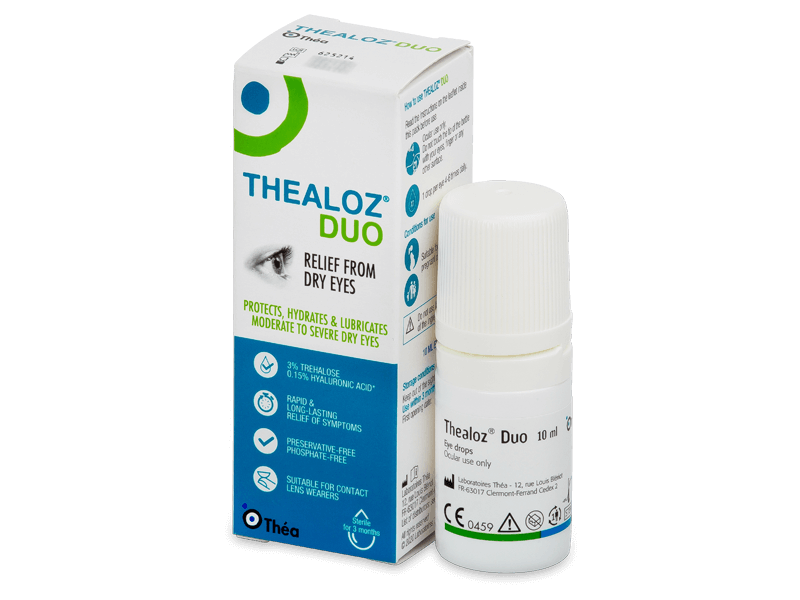 Thealoz Duo acu pilieni 10 ml