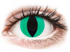 ColourVUE Crazy Lens - Anaconda - bez dioptrijas (2 lēcas)