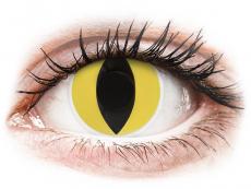 ColourVUE Crazy Lens - Cat Eye - bez dioptrijas (2 lēcas)