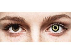 ColourVUE Crazy Lens - Eclipse - bez dioptrijas (2 lēcas)