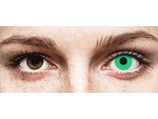 ColourVUE Crazy Lens - Emerald (Green) - bez dioptrijas (2 lēcas)