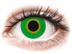ColourVUE Crazy Lens - Hulk Green - bez dioptrijas (2 lēcas)