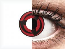 ColourVUE Crazy Lens - Kakashi - bez dioptrijas (2 lēcas)