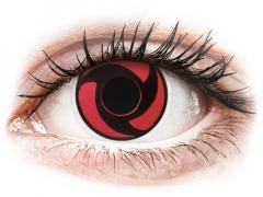 ColourVUE Crazy Lens - Mangekyu - bez dioptrijas (2 lēcas)