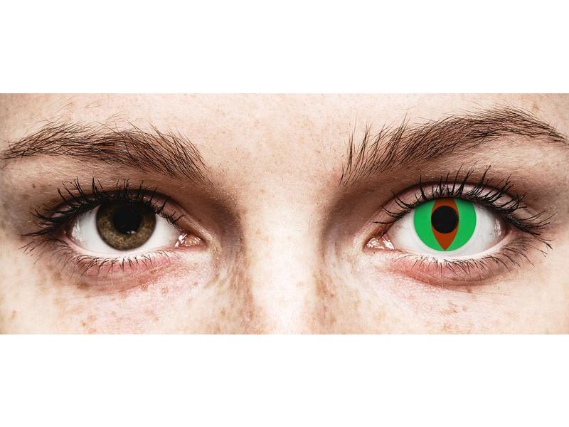 ColourVUE Crazy Lens - Raptor - bez dioptrijas (2 lēcas)