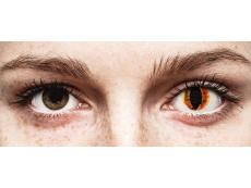 ColourVUE Crazy Lens - Saurons Eye - bez dioptrijas (2 lēcas)