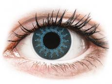 ColourVUE Crazy Lens - Solar Blue - bez dioptrijas (2 lēcas)