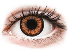 ColourVUE Crazy Lens - Twilight - bez dioptrijas (2 lēcas)