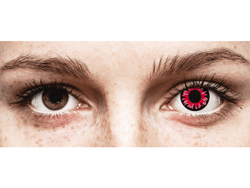 ColourVUE Crazy Lens - Volturi - bez dioptrijas (2 lēcas)