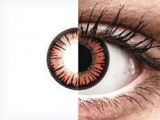 ColourVUE Crazy Lens - Vampire - bez dioptrijas (2 lēcas)