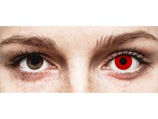 ColourVUE Crazy Lens - Red Devil - ar dioptriju (2 lēcas)
