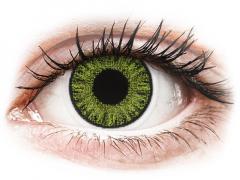 TopVue Color daily - Fresh green - ar dioptriju (10lēcas)