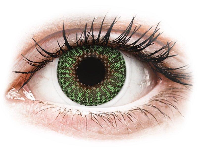 TopVue Color - Green - bez dioptrijas (2 lēcas)