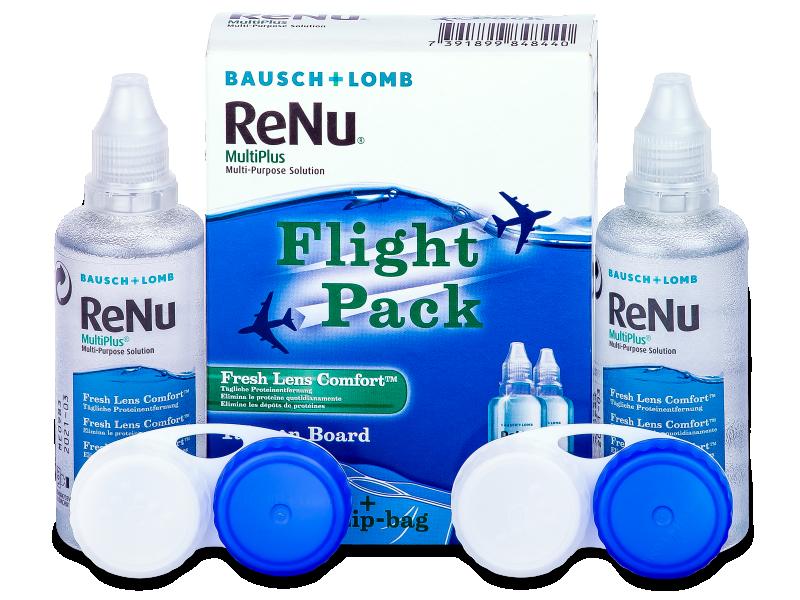 ReNu Multiplus flight pack 2 x 60 ml