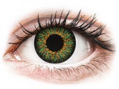 ColourVUE Glamour Green - bez dioptrijas (2lēcas)