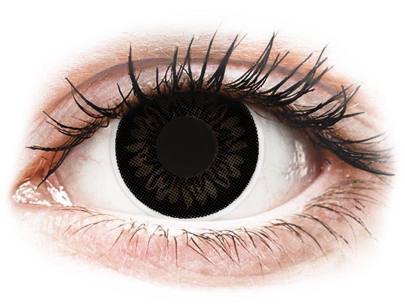 ColourVUE BigEyes Dolly Black - bez dioptrijas (2lēcas)