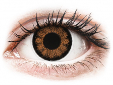 ColourVUE BigEyes Sexy Brown - bez dioptrijas (2lēcas)