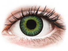 ColourVUE Fusion Green Yellow - ar dioptriju (2lēcas)