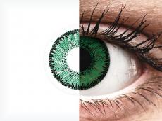 SofLens Natural Colors Emerald - ar dioptriju (2 lēcas)