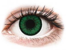 SofLens Natural Colors Emerald - bez dioptrijas (2 lēcas)