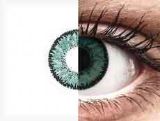 SofLens Natural Colors Jade - ar dioptriju (2 lēcas)