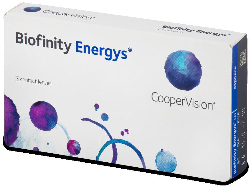 Biofinity Energys (3 lēcas)