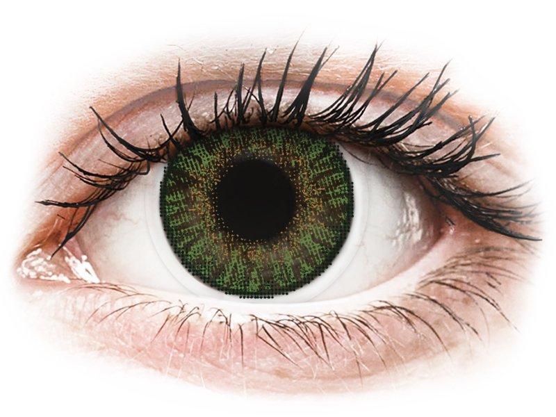 FreshLook ColorBlends Gemstone Green - bez dioptrijas (2 lēcas)