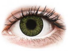 FreshLook ColorBlends Green - ar dioptriju (2 lēcas)