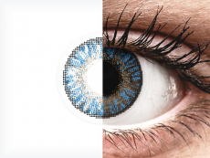 FreshLook ColorBlends True Sapphire - ar dioptriju (2 lēcas)