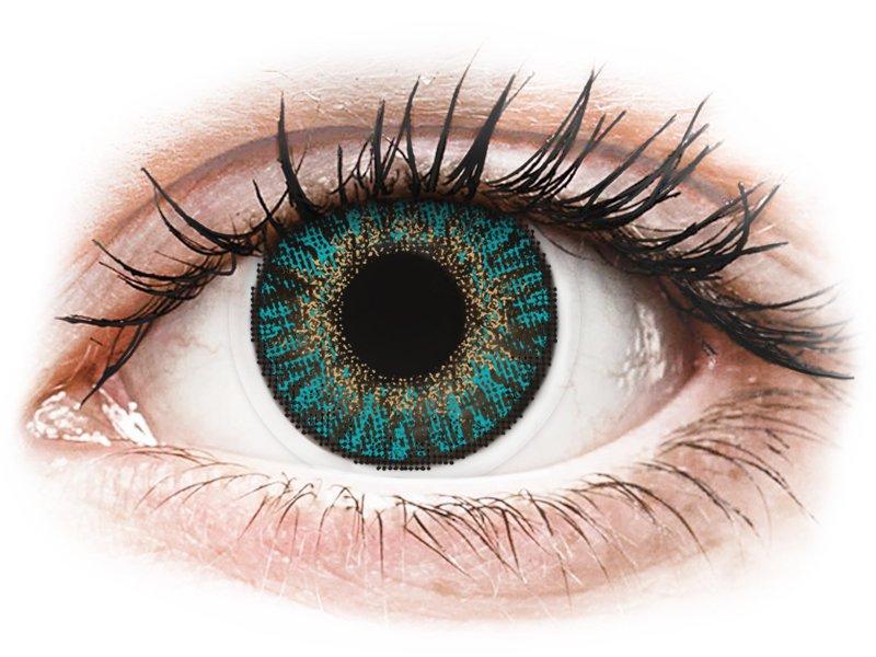 FreshLook ColorBlends Turquoise - bez dioptrijas (2 lēcas)