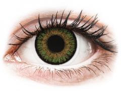 FreshLook One Day Color Green - bez dioptrijas (10 lēcas)