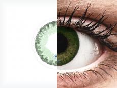 FreshLook Dimensions Sea Green - bez dioptrijas (2 lēcas)